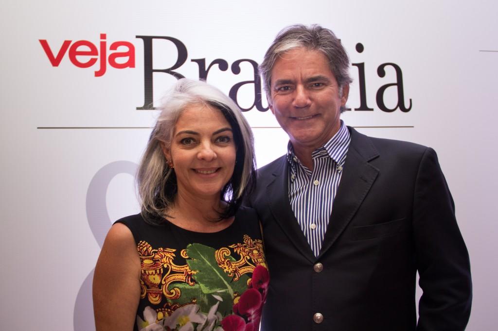 Ana Flávia Coelho e Luiz Filipe Ribeiro Coelho, sócios da Valentina Pizzaria Asa Sul. Foto por Dani Braga