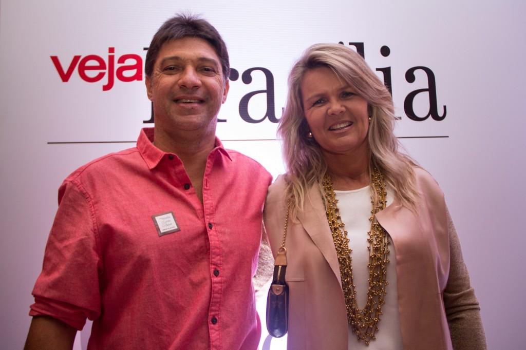 Robson Cunha e Margareth Finger, sócios-administradores da Valentina Pizzaria. Foto por Dani Braga
